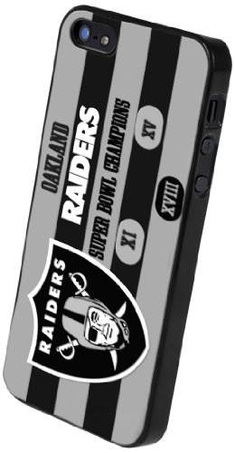 Special Sale Forever Collectibles Oakland Raiders Commemorative Hard Snap-On Apple iPhone 5 & 5S Case