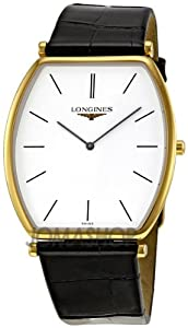 Longines La Grande Classic White Dial Yellow Gold Men Watch L47862122 from Longines