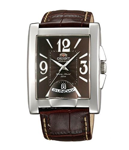 Orient Mens Elegant Leather Watch FEVAD005TT