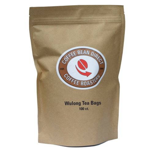 Coffee Bean Direct Wulong Tea Bags, 100 Count, 0.5 Pound Pouch