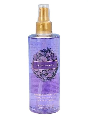 Victoria's Secret Garden Love Spell Refreshing Body Mist Splash 8.4 oz by Victoria's Secret