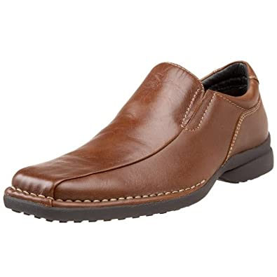 Kenneth Cole REACTION Men's Punchual Slip On,Whiskey,7 M US