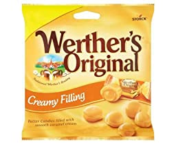 Werthers Original Creamy Filling (110g x 15)