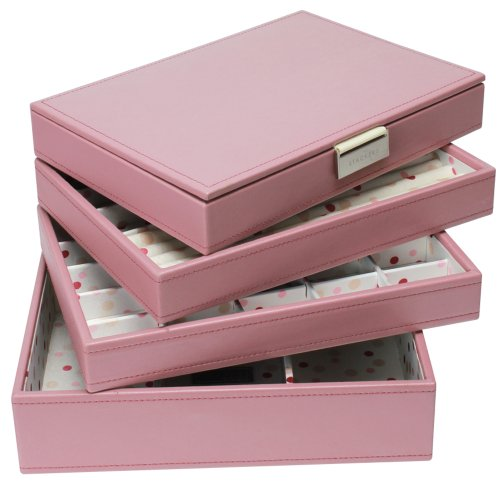 Stackers Jewelry Box Storage System - Dusky Pink