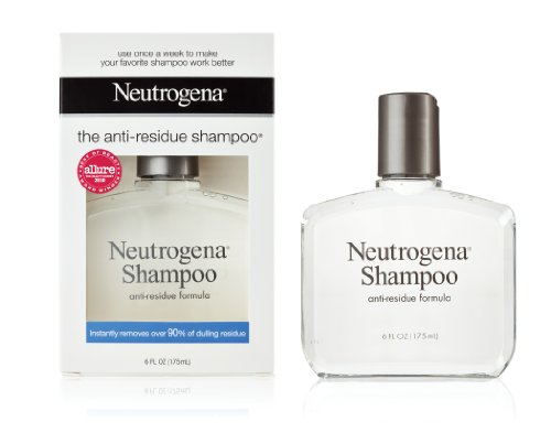 Neutrogena Shampoo, Anti-Residue Formula, 6 Ounce
