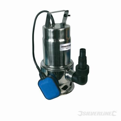 Silverline 869235 - Pompa sommersa per acque scure, 9600 litri/h