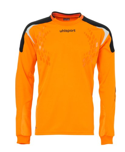 Uhlsport, Maglia Uomo lungoarm TorwartTECH, Arancione (orange), XXL