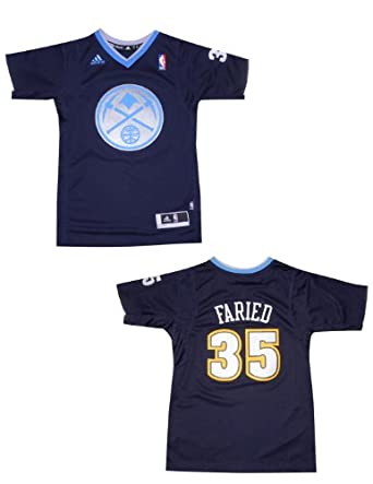 NBA Denver Nuggets Faried #35 Youth Athletic Short Sleeve Jersey by NBA