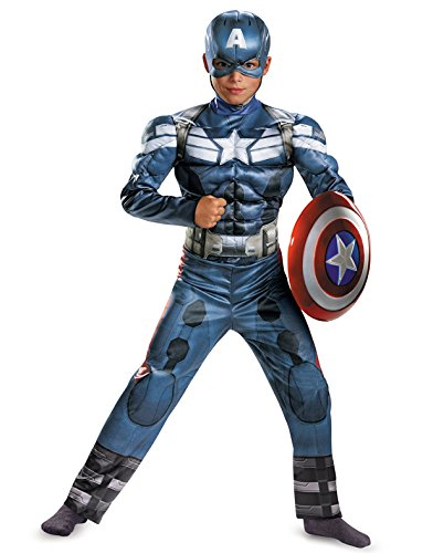 Disguise Marvel Captain America The Winter Soldier Movie 2 Classic Boys Costume