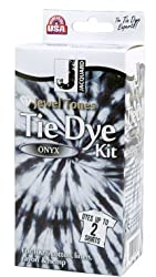 Jacquard Jewel Tones Tie Dye Kit Onyx - Dyes up to 2 T-Shirts