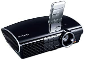 ViewSonic PJ258D Micro-Portable ViewDock Projector -2.9 lbs