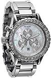NIXON Womens NXA037710 Chronograph Dial with Swarovski Crystal