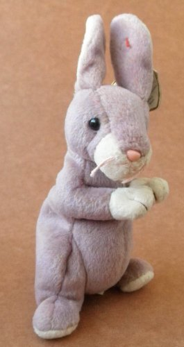 TY Beanie Babies Springy the Rabbit Stuffed Animal Plush Toy - 8 inches tall