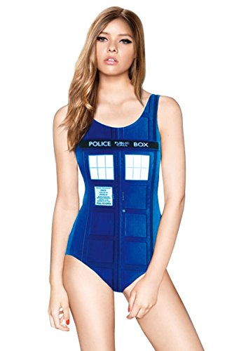 3D Printed Police Box Swimsuit
