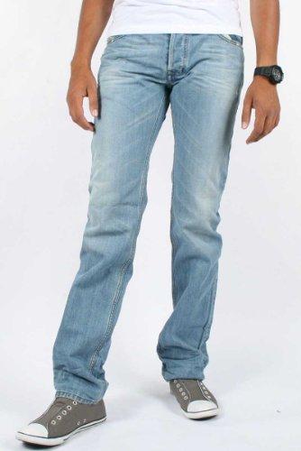Diesel - Mens Safado 802I Denim Jeans, Size: 40W x 32L, Color: Denim