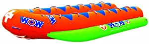 12-Person Closed Bow Banana Boat by WOW Sports