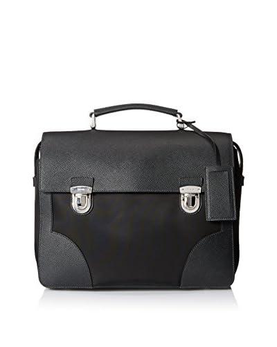 Prada Men's Briefcase Bag, Nero