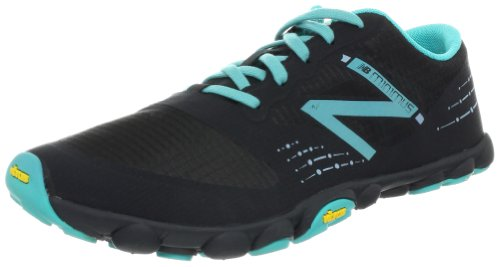 New Balance Women's WT00BK Black/Blue Trainer 4 UK, 36.5 EU, 6 US B