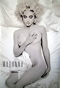 MADONNA Poster SMOKING IN BED Nude PHOTO ART 11x17 Master Print