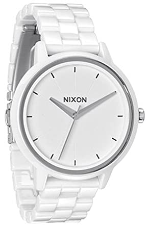 Ceramic Watches Nixon The Ceramic Kensington Watch in White