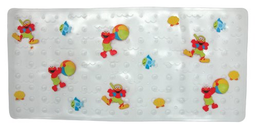 Great Features Of Sesame's Elmo Bath Mat 'splish Splash'