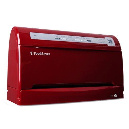 FoodSaver FSFSSL3461-035 / V3461 Food Vacuum Sealer, Cinnamon Red by FoodSaver (Foodsaver V3461 compare prices)