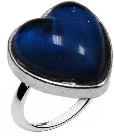 Sweet Heart Shaped Mood Ring (Adjustable Size)