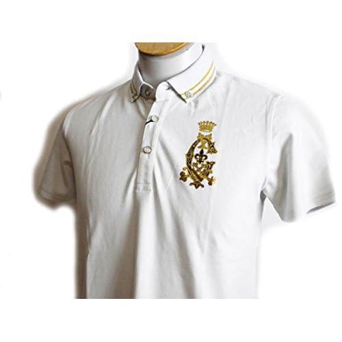 (カスタムカルチャー) CUSTOM CULTURE 半袖ポロシャツ 薄グレー サイズL