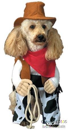 Pet Cowboy Dog Halloween Costume For Large Dogs