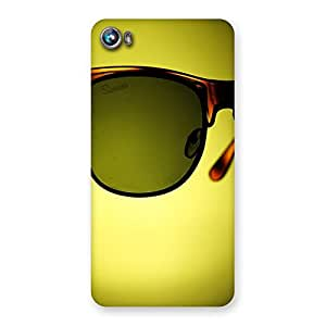Ajay Enterprises Div Eye Glasses Back Case Cover for Micromax Canvas Fire 4 A107