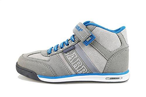 CARRERA JEANS sneakers bambino 30 EU grigio camoscio tela AG508