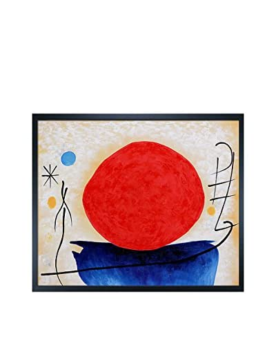 Ohne Titel The Red Sun Reproduction Oil Painting