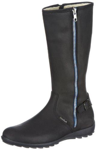 Lepi Unisex-Child 2520LES Boots Black Schwarz (2520 C01 NERO) Size: 33
