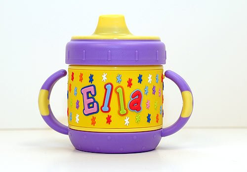 Personalized Sippy Cup: Ella front-1024027