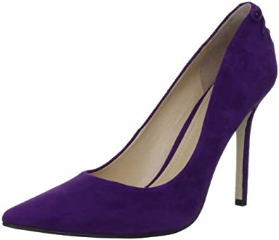 Enzo Angiolini Women's Cimino Pump,Dark Purple,8 M US