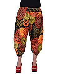 Uttam Enterprises Cotton Printed Short Black Color Trouser