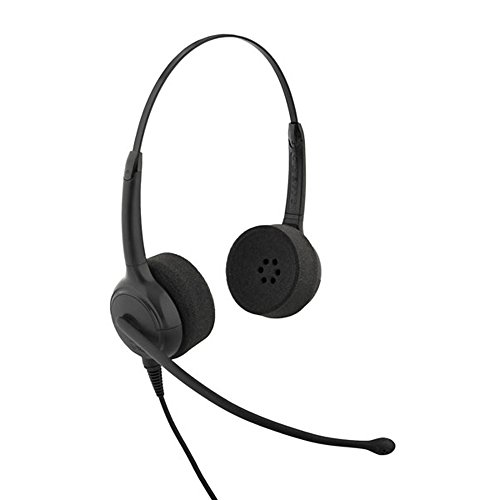 Vxi 203515 Cc Pro 4021G Over-The-Head Binaural Headset With Noise Canceling Microphone Landline Telephone Accessory