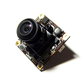 0.00008 LUX Extreme Low Light OSD Control Board Camera w/ Ultimate 600tvl Video & 150 Degree Lens --- Made in Korea & CCTV Professional use only