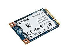 Kingston SSDNow mSATA 30GB Solid State Drive (6Gbps)