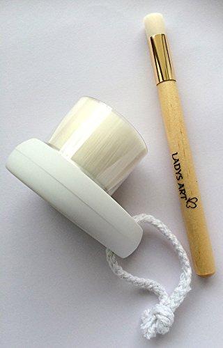 洗顔ブラシ 全顔用&小鼻専用ブラシ~毛穴の汚れがスッキリ~