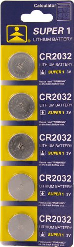 Powertron Lithium 3V Batteries Size CR2032 (Pack of 25)
