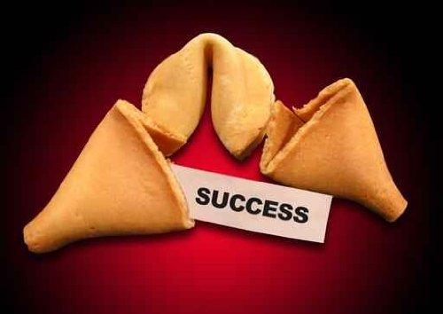 Success Fortune Cookie Metaphor - 24