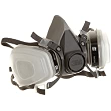3M Low-Maintenance Half-Mask Organic Vapor, P95 Respirator Assembly, Medium