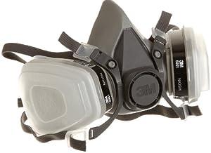 (历史最低)3M R6211 多用途 P95级别 可换滤芯呼吸器防护面罩折后$20.7