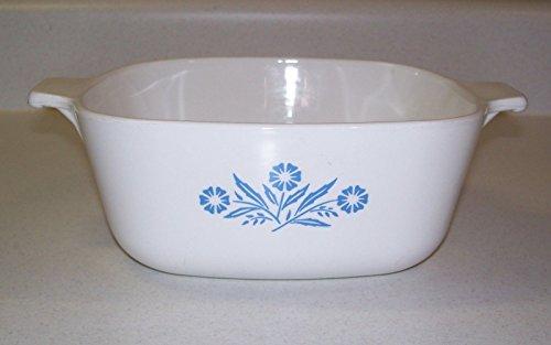 Vintage Corning Ware Blue Cornflower 1.5 Qt Casserole P-1.5-B