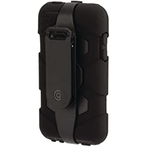 Survivor Extreme Duty Case and Belt Clip for iPod touch 4G