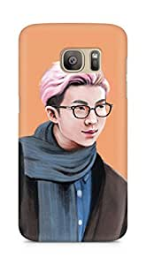 Amez designer printed 3d premium high quality back case cover for Samsung Galaxy S7 Edge (Handsome Man)
