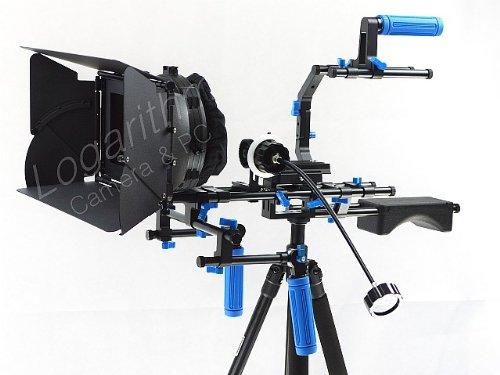 Kernel カメラ用ショルダーリグ(ショルダーマウント) マットボックス・フォローフォーカス付【ネットショップ ロガリズム】Rig