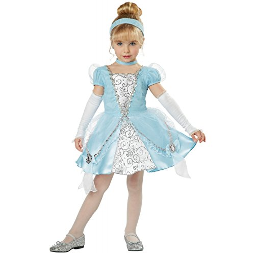Disney Princess Toddler Deluxe Cinderella Girls Costume sz 4T-6T