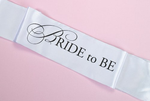 "Lillian Rose ""BRIDE to BE"" Sash, 68-Inch"